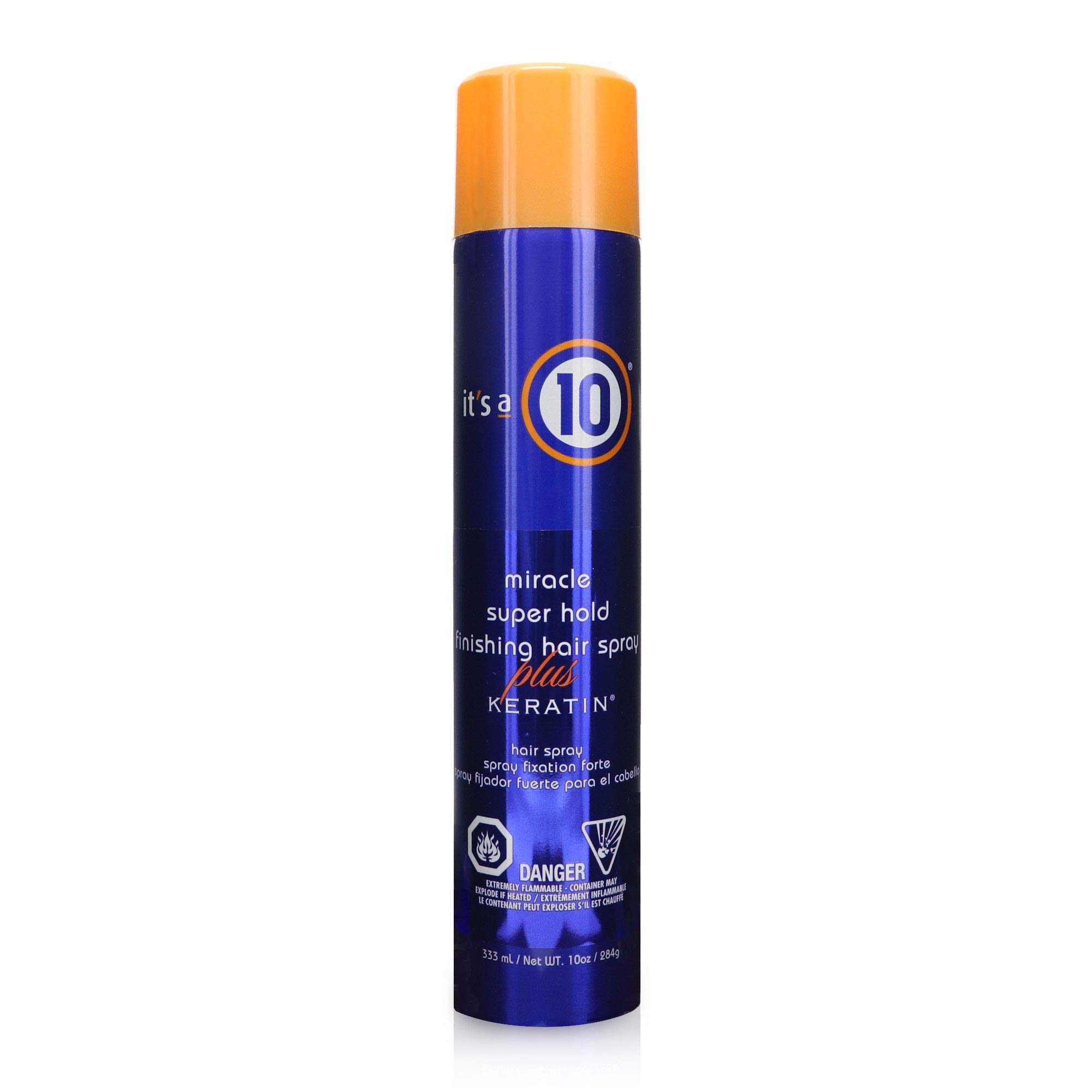 It's a 10 Haircare Miracle Super Hold Finishing Hair Spray Plus Keratin, 10 fl. oz. by It's a 10 Haircare