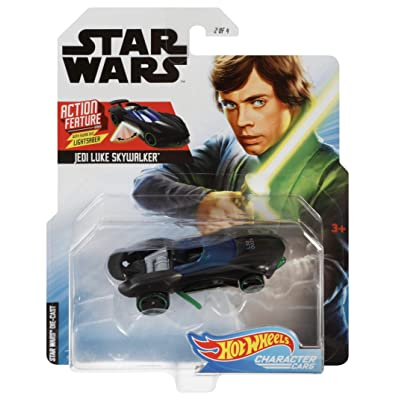 Hot Wheels Star Wars Luke Skywalker Vehicle: Toys & Games