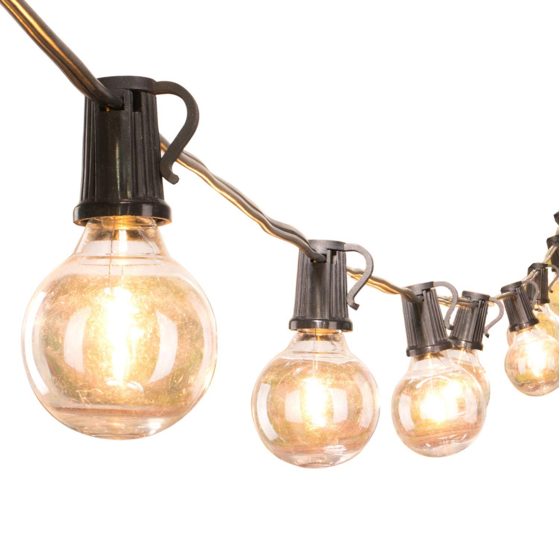 Brightown 25Ft G40 Globe String Lights