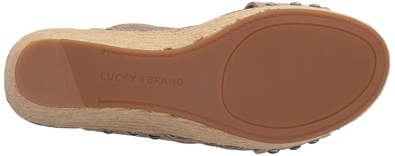 Lucky Grau Brand Neeka Offener Spitze Synthetik Keilabsätze Feather Grau Lucky 6a52ae