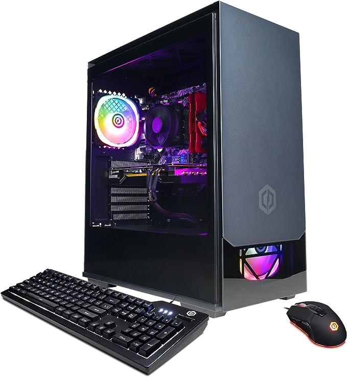 CYBERPOWERPC Gamer Master Gaming PC, AMD Ryzen 5 3600 3.6GHz, 16GB DDR4, GeForce GTX 1650 Super 4GB, 500GB NVMe SSD, 1TB HDD, WiFi Ready & Win 10 Home (GMA890A) | Amazon