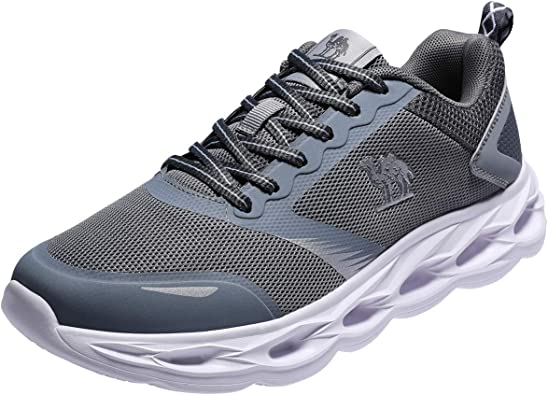 CAMEL CROWN Zapatillas Deportivos para Hombres Deporte Running Zapatos para Correr en Asfalto Calzado Gimnasio Sneakers Atletismo Cómodo Transpirables Casual Negro Gris Verde Azul 41-47: Amazon.es: Zapatos y complementos