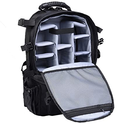 Consumer Electronics Waterproof Photo Backpack Camera Bag For Sony Canon Eos Nikon Panasonic Olympus Fujifilm Outdoor Travel Camera Case Lens Bag And To Have A Long Life.