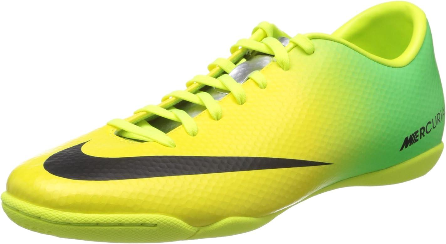 958d79b470cd Nike Mercurial Victory IV IC (Vibrant Yellow/Neo Lime/Metallic Silver/Black