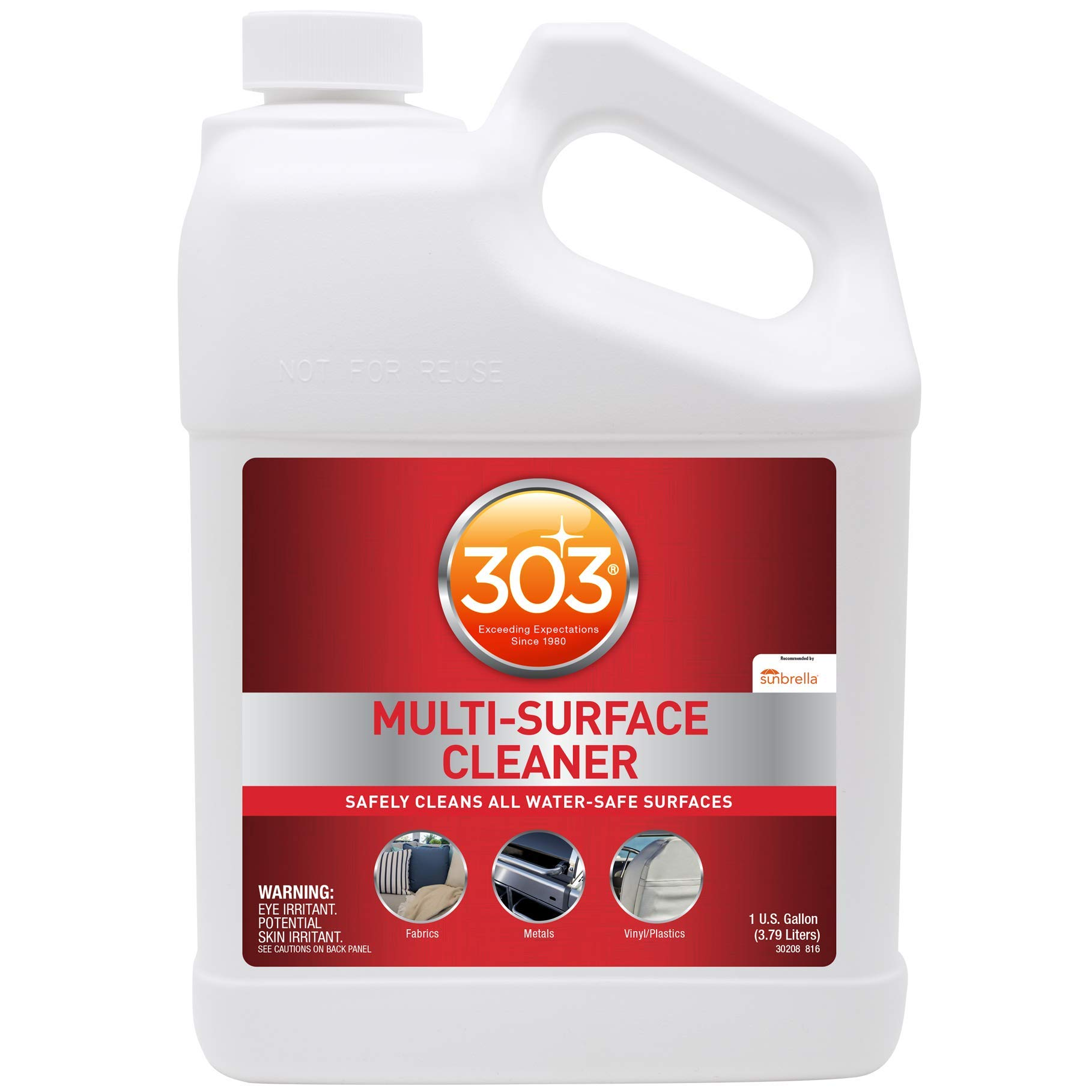 303 Products 30570 Marine & Recreation Multi-Surface Cleaner - 1 Gallon by 303 Products (Image #1)