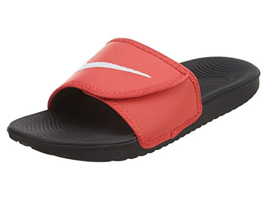 Nike Men's Kawa Adjustable Slide Sandals (13 D(M) US, Track Red