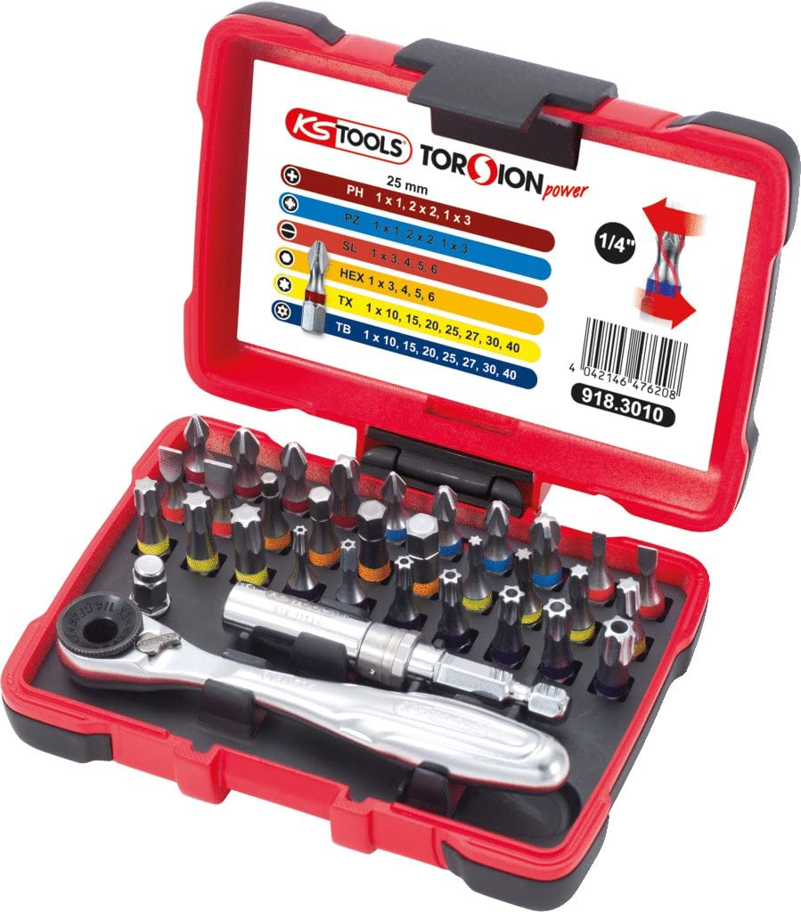 KS Tools TORSIONpower Bit-Box Werkzeugkasten