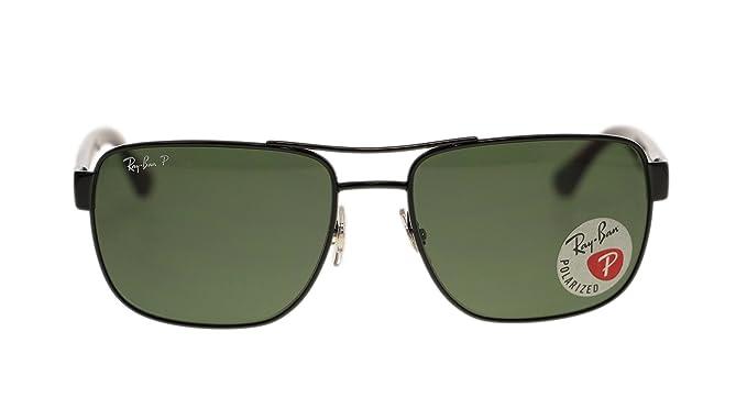 8e1542b8574bd ... cheap ray ban mens sunglasses rb3530 002 9a black green lens 58mm  authentic 323bd c2fb8 ...