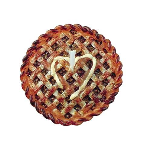 Para tartas tarta de manzana con forma de velas para ...