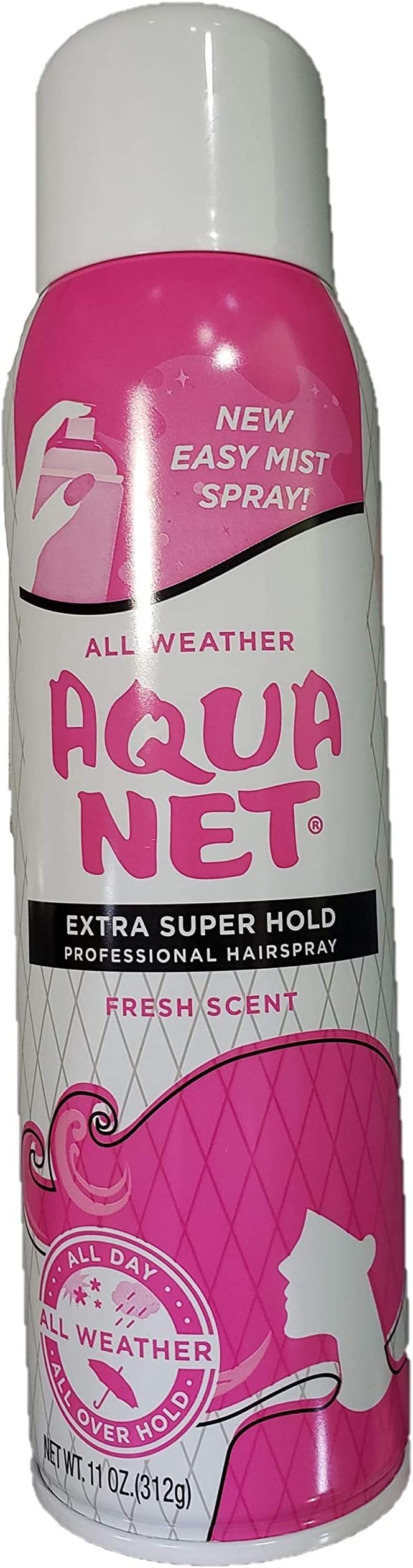 Amazon.com: Aqua neta Professional Hair Spray extra super ...