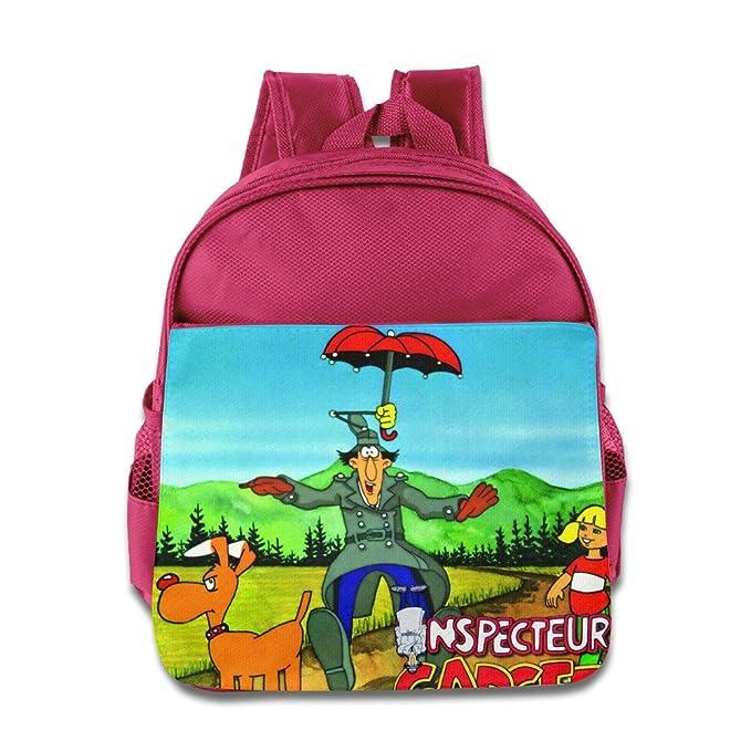 Amazon.com: Kids Mochila Escolar Inspector Gadget dibujos ...