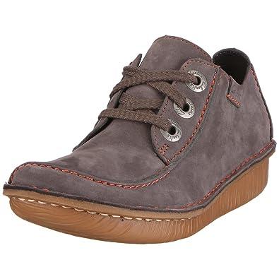 Clarks Funny Dream, Women's Lace-Up Shoes - Grey, 39 EU