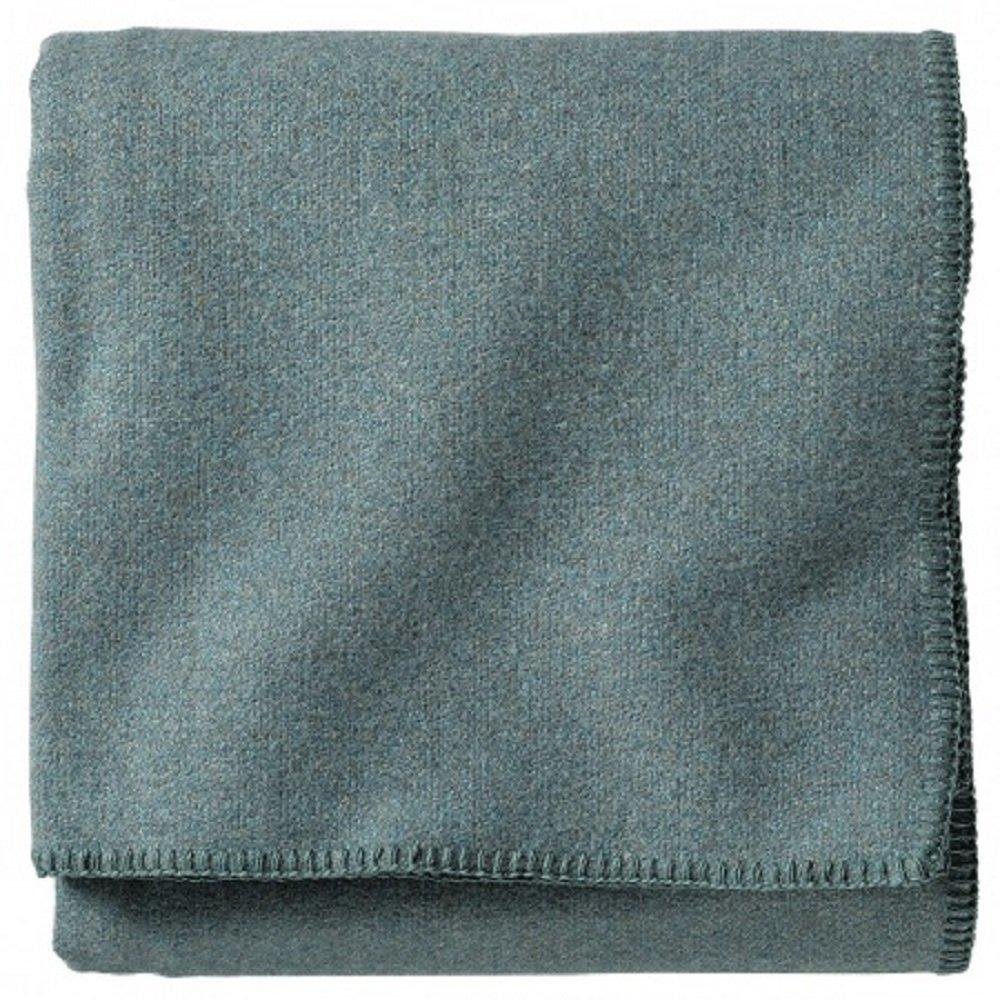 Pendleton Shale Blue Eco-Wise Washable Wool Blanket, Twin