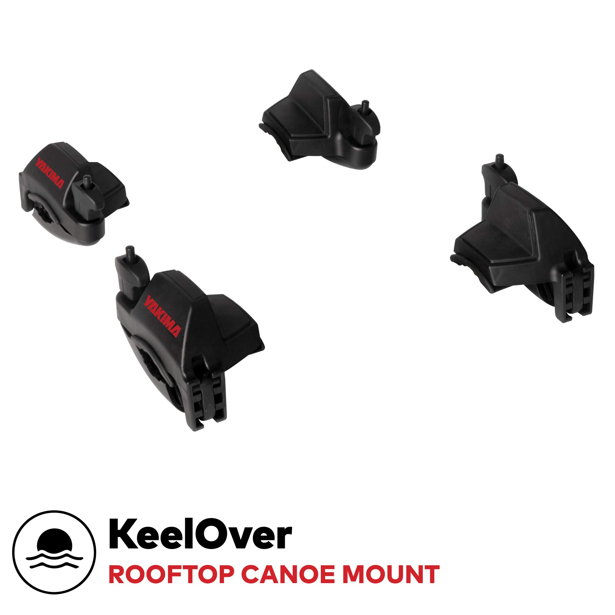 Yakima - KeelOver Rooftop Mounted Canoe Rack for Vehicles, Carries 1 Canoe by Yakima