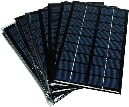 Portable Mini 5V 60mA 0.3W Solar Epoxy Panel