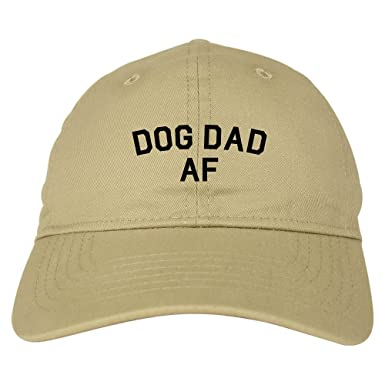 Kings Of NY Dog Dad Af Daddy Mens Dad Hat Baseball Cap Beige  Amazon ... e0f3ffa6808b