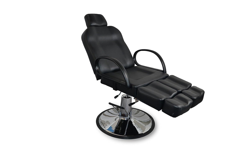 POLIRONESHOP AFRODITE Sillón silla para maquillaje tattoo pedicura manicura: Amazon.es: Deportes y aire libre
