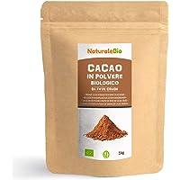 Cacao Ecológico en Polvo 1 Kg. Organic Cacao Powder. 100% Bio, Natural y Puro producido a partir de Granos de Cacao…