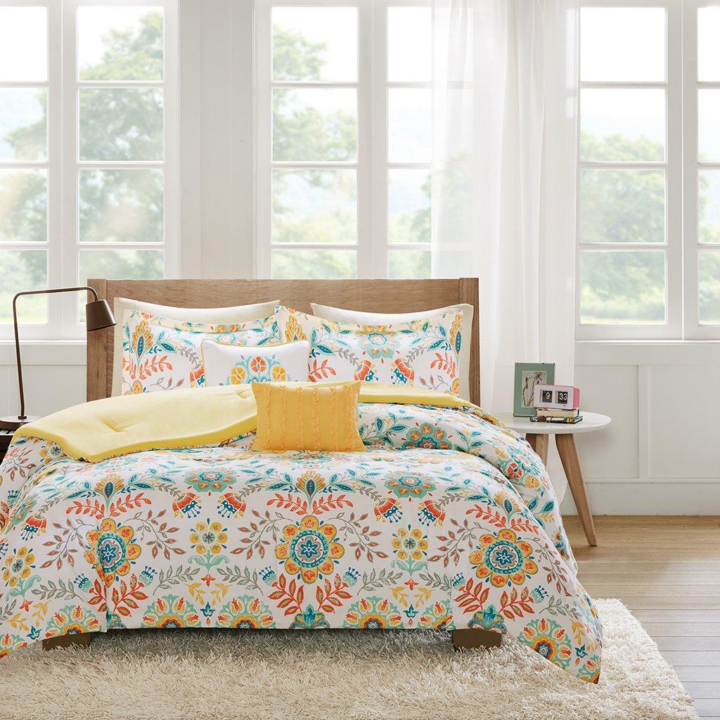 Intelligent Design ID10-727 Nina Comforter Set Twin XL Multi, Twin/Twin X-Large