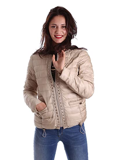 30c33466483a Gaudi jeans 721BD35007 Down Jacket Women Gold 46  Amazon.co.uk  Clothing
