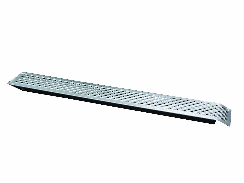 Unitec 10321 - Rampa di accesso in acciaio, 150 x 22 cm