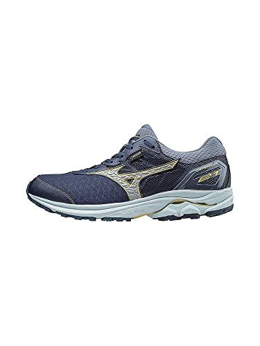 492f3a418ec Mizuno Mens Wave Rider 21 GTX Men's Running Shoes Grey Size: 8 M US ...