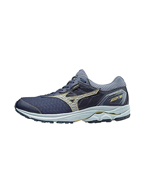 5da9b69196c Mizuno Mens Wave Rider 21 GTX Men's Running Shoes Running Shoe