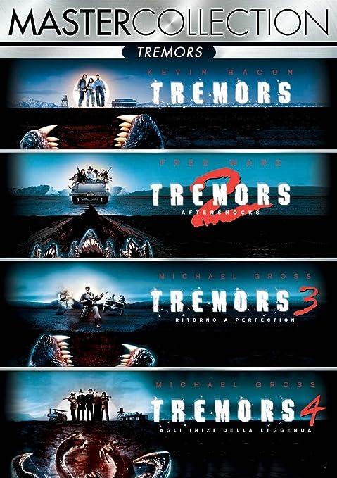 Tremors Quadrilogia (4 Blu-Ray) [Italia]