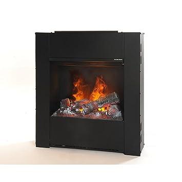 rubyfires Chimenea eléctrica eléctrico Fuego Eléctrico Uso Fuego decorativo Mystic Fires RF 50: Amazon.es: Jardín