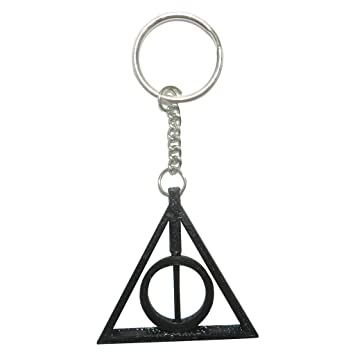 Tesseract Harry Potter Deathly Hallows Logo Keyrings   Keychains ... 4ed6dfd20