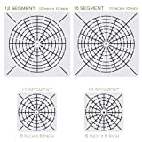 Mandala Stencils for Dot Painting - Set of 4