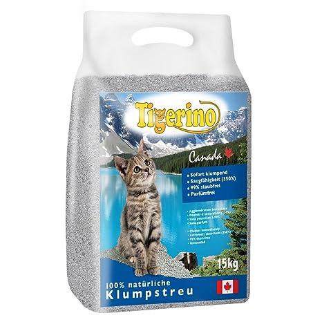 Tigerino Canada - Arenero para gatos (2 unidades, 12 kg ...