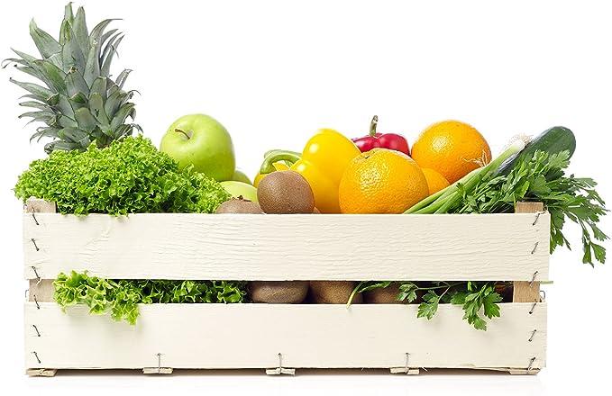 Oedim Vinilo Decorativo Pared 3D Fruteria | Caja Madera Frutas y Verduras | 125x90cm | Adhesivo Resistente y de Facil Aplicación | Pegatina Adhesiva Decorativa | Decoración Puestos de Venta |: Amazon.es: Hogar