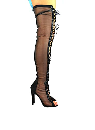 5342aac6e1a Chase   Chloe Emelia-5 Thigh HIgh Heel Boot (6.5