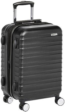 2589374f6 AmazonBasics Premium Hardside Spinner Luggage with Built-In TSA Lock -  20-Inch Carry