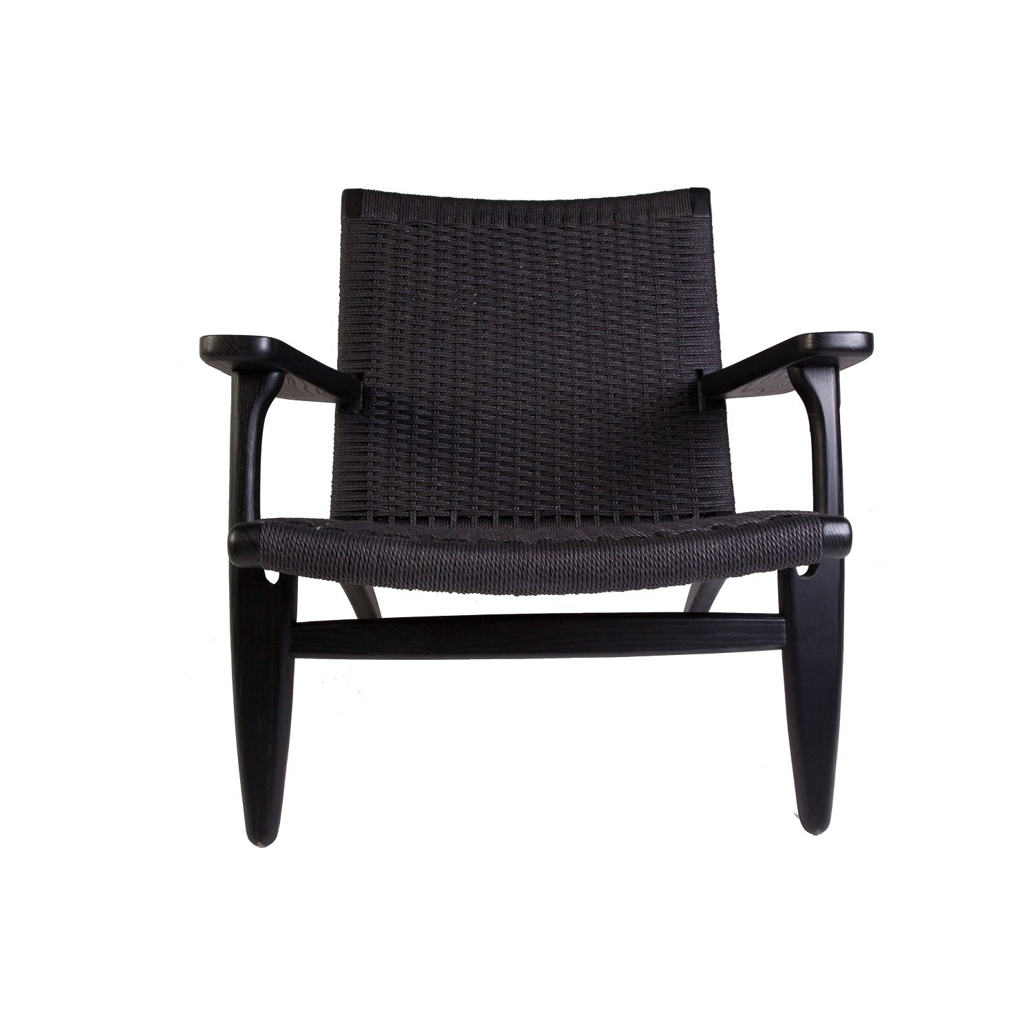 Stilnovo The Sungar Arm Chair, FRC086BLKBLK, Black