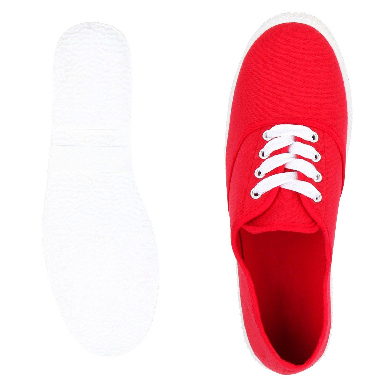 best-boots Damen Ballerinas Sneaker Schn/ürer Slipper Halbschuhe sportlich