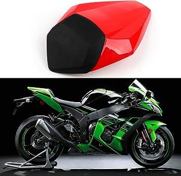 Green Newsmarts Rear Pillion Seat Cowl Fairing Cover Passenger Rear Seat Cover Cowl for Kawasaki Ninja ZX10R 2011-2015