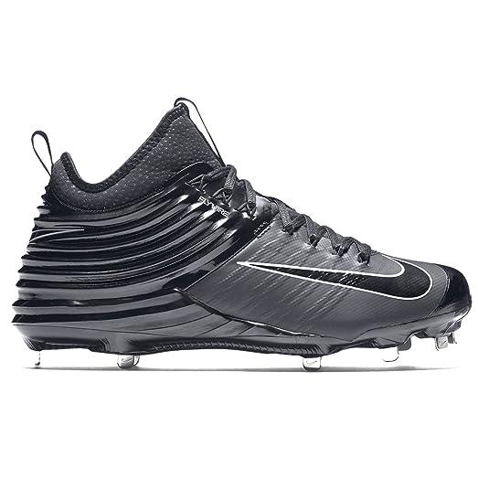 Nike Lunar 2 Metal Negro Baseball Spikes Zapatos Negro Metal Trucha 09244b