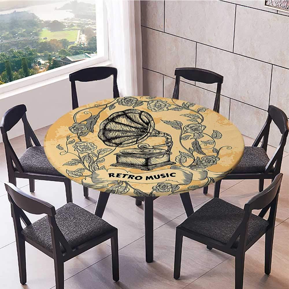 Youdeem-tablecloth Mantel Redondo prémium Estilo Pop Art Estilo ...