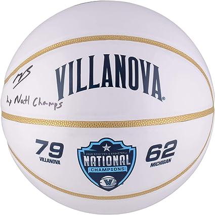 0e673cb8a1d Mikal Bridges Villanova Wildcats Autographed White Panel Basketball with 2x  Champs Inscription - Fanatics Authentic Certified