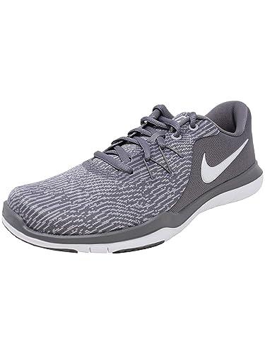 c2db36687 Nike Womens WMNS Flex Supreme TR 6 Gunsmoke White Atmosphere Grey Size 5.5