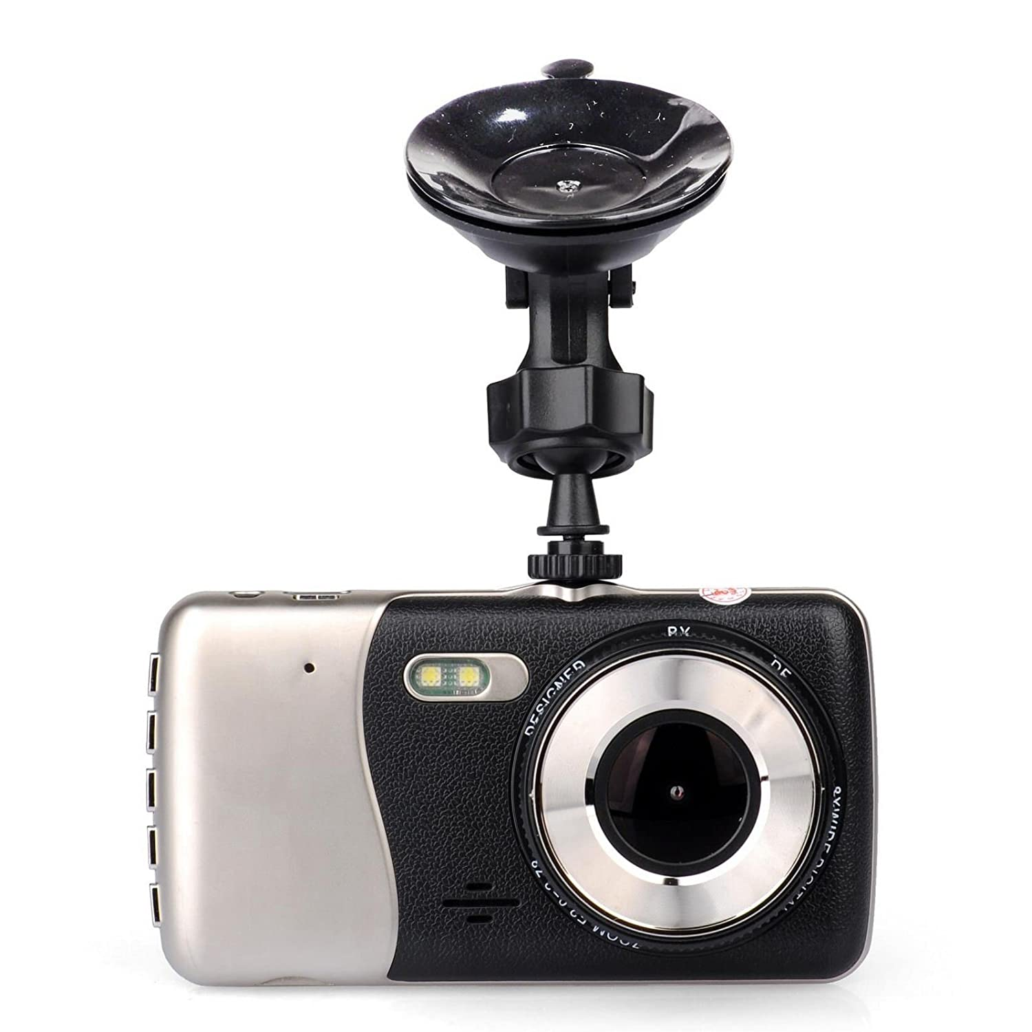 WDR G-Sensor Lian LifeStyle Car Dash Cam 4.0 FHD 1080p 170 Degree Wide Angle Dashboard Camera Recorder with AR-0330 Video Sensor Loop Recording+16GB SD LY780 LLSLY LLSLY780