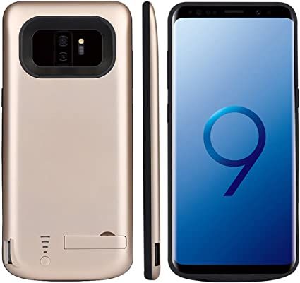 Samsung Galaxy S9 Plus Funda Bateria, Moonmini 6000mAh Li-polímero ...