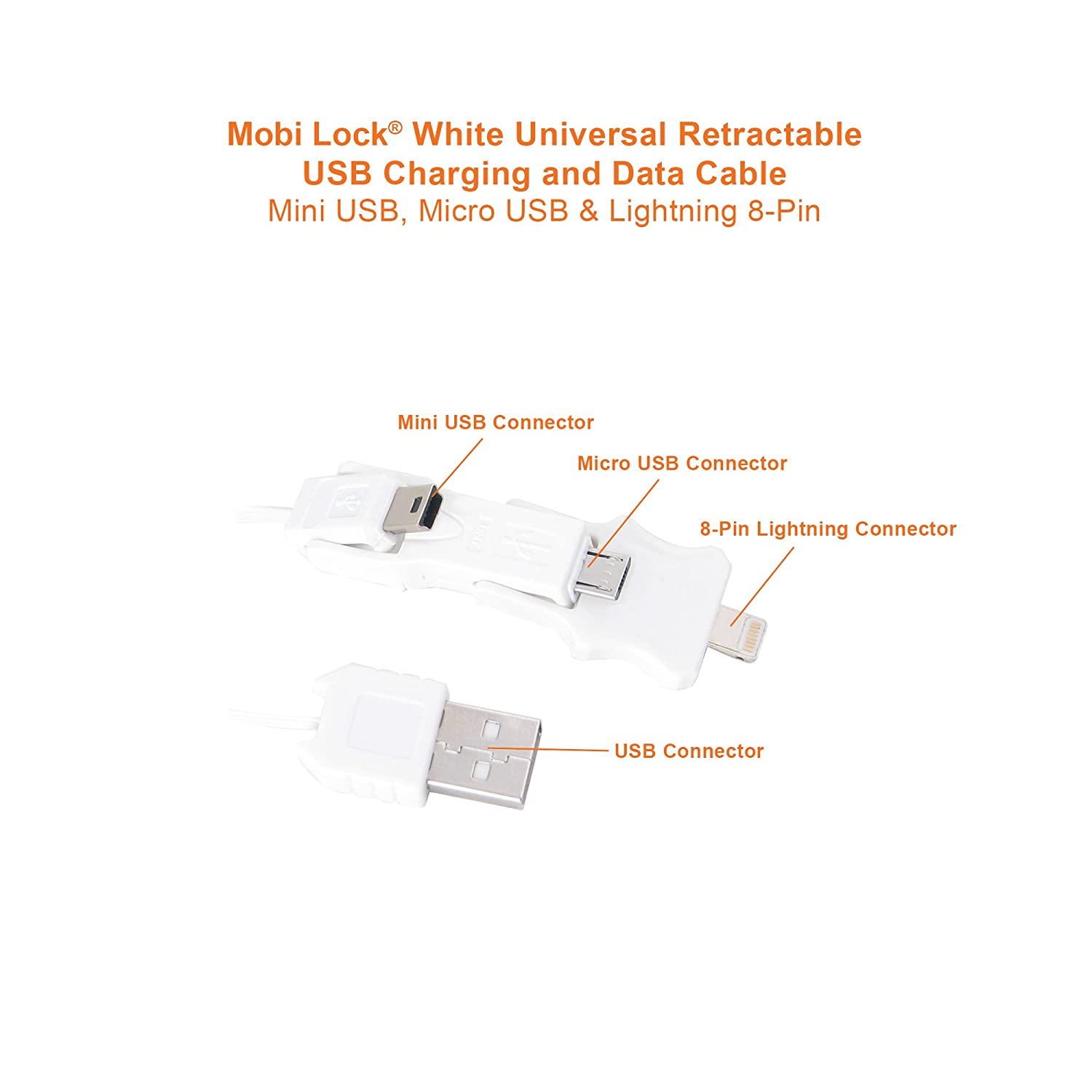 Mobi Lock Universal Mobile Phone Charger Electronics Mini Usb Diagram