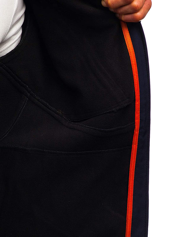 BOLF Mens Softshell Jacket Windbreaker Sport Outdoor Style Mix 4D4