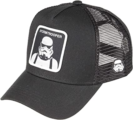 Capslab Trucker Cap Star Wars Stormtrooper Black-Gorras: Amazon.es ...