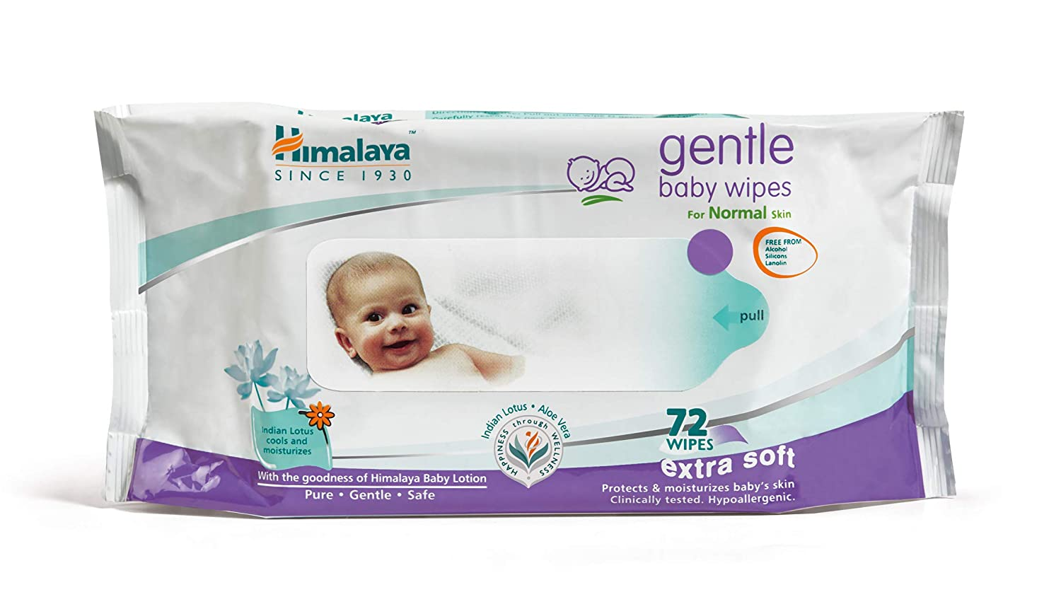 Buy Himalaya Gentle Baby Wipes, 72 Wipes Online at Low Prices in India -  Amazon.in