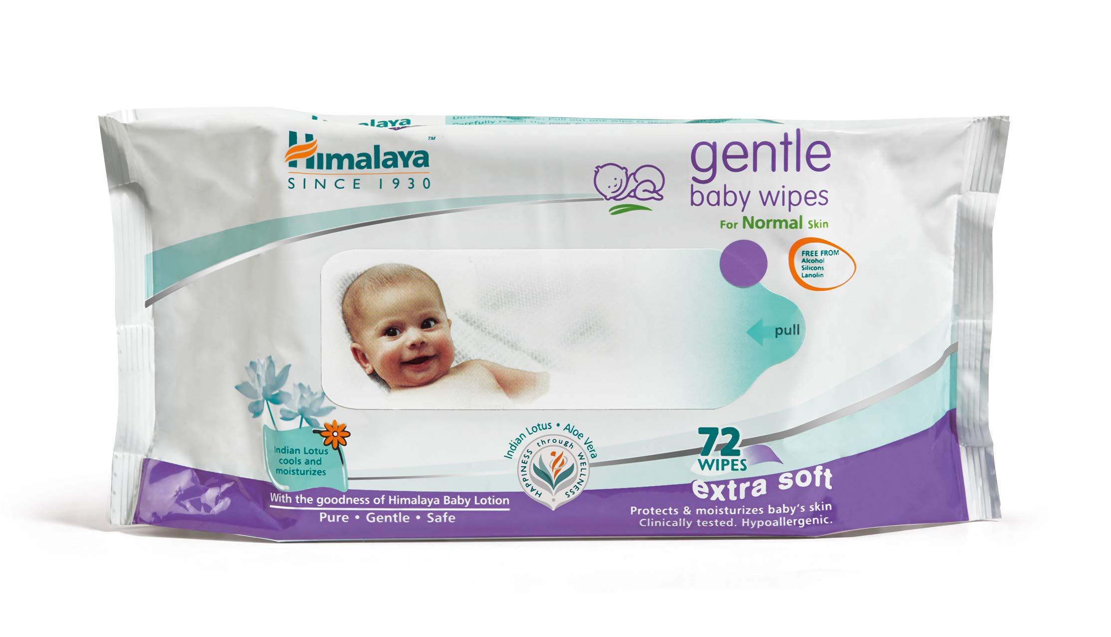 Himalaya Gentle Baby Wipes (72 Sheets) product image