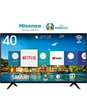 HISENSE H40BE5500 TV LED Full HD, Natural Colour Enhancer, Quad Core, Smart TV VIDAA U, Crystal Clear Sound, Tuner DVB-T2/S2 HEVC, Wi-Fi